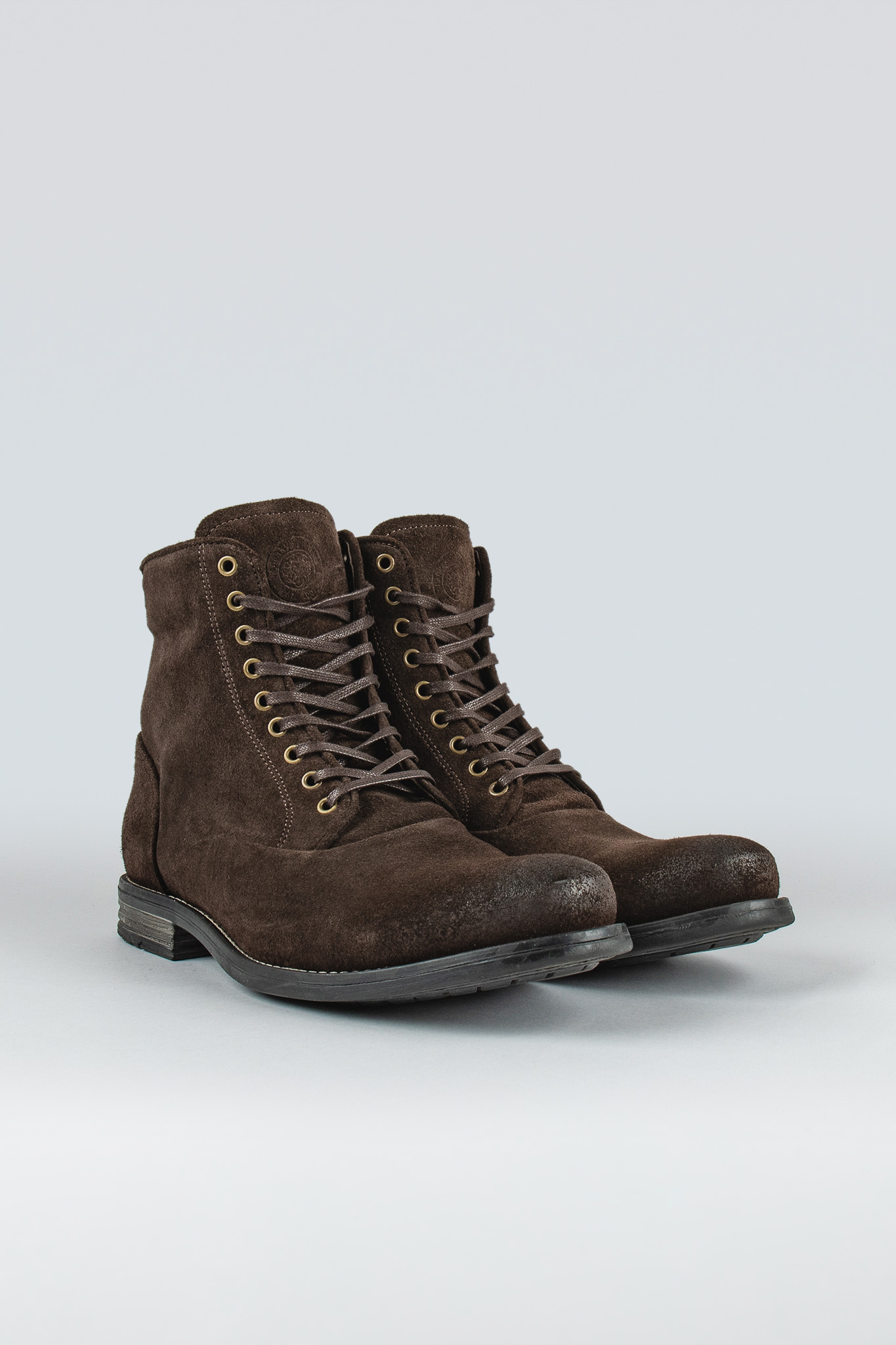 Delirious Brown Suede