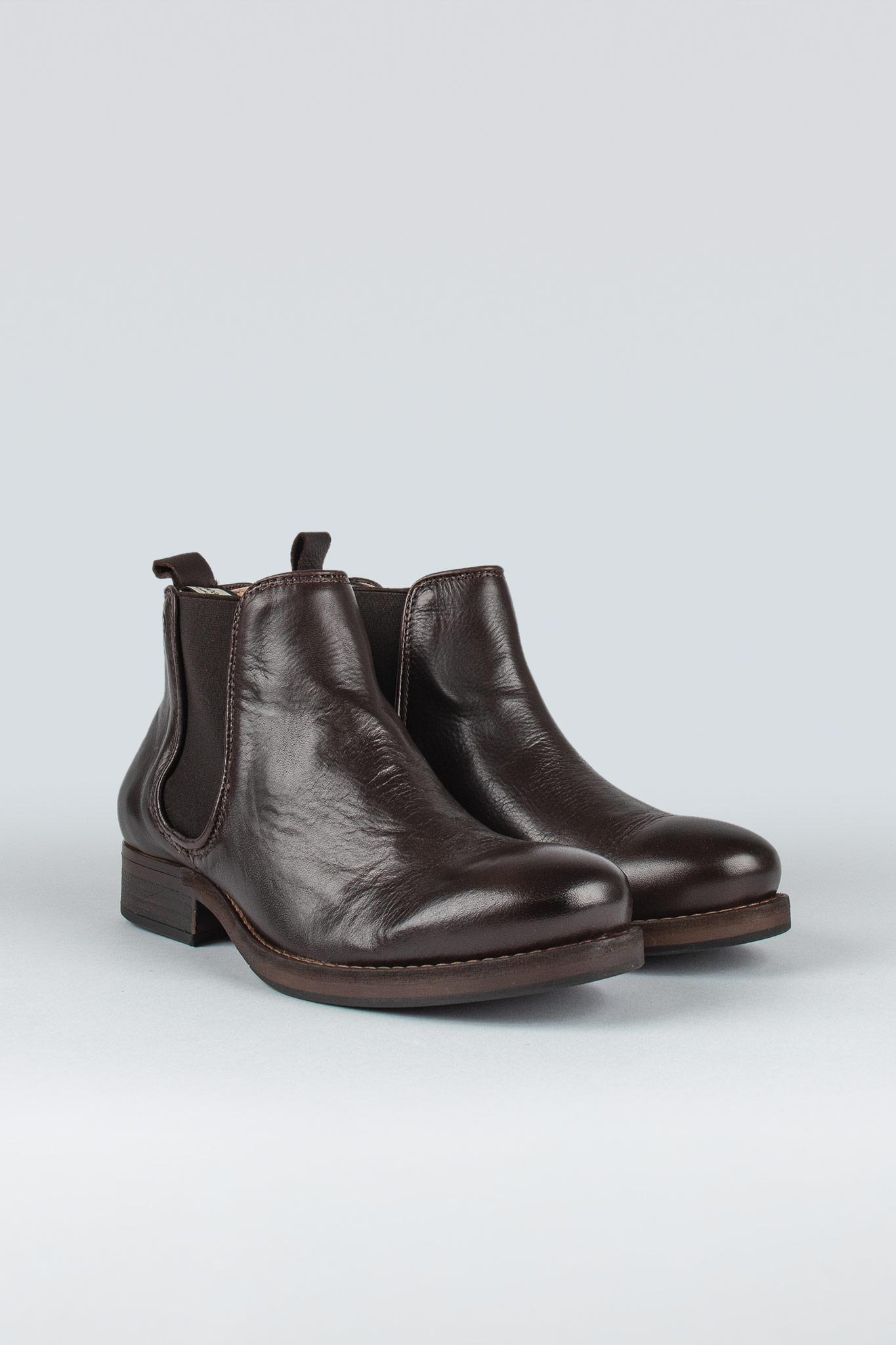 Style: Halligan W SMU Brown Sauvage