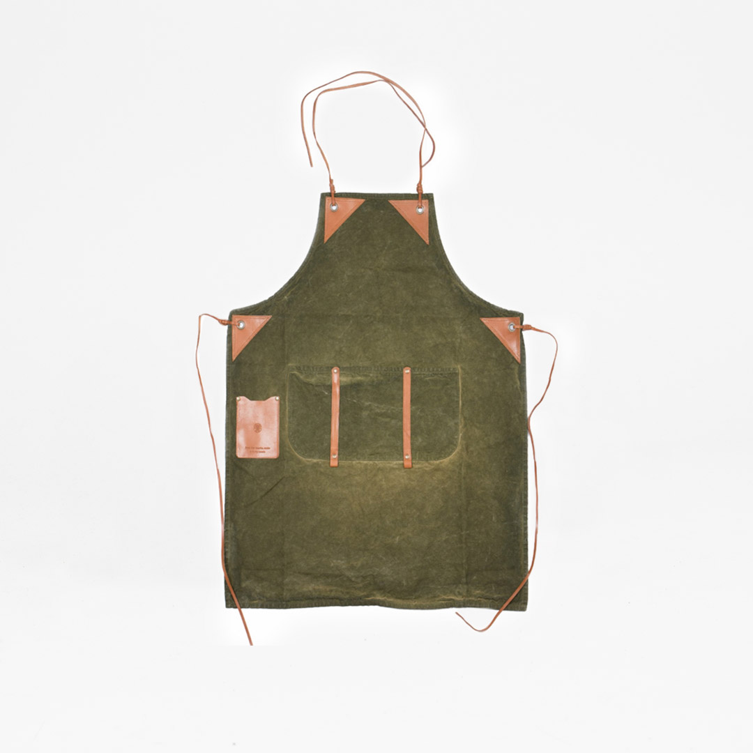 Worker Apron Green